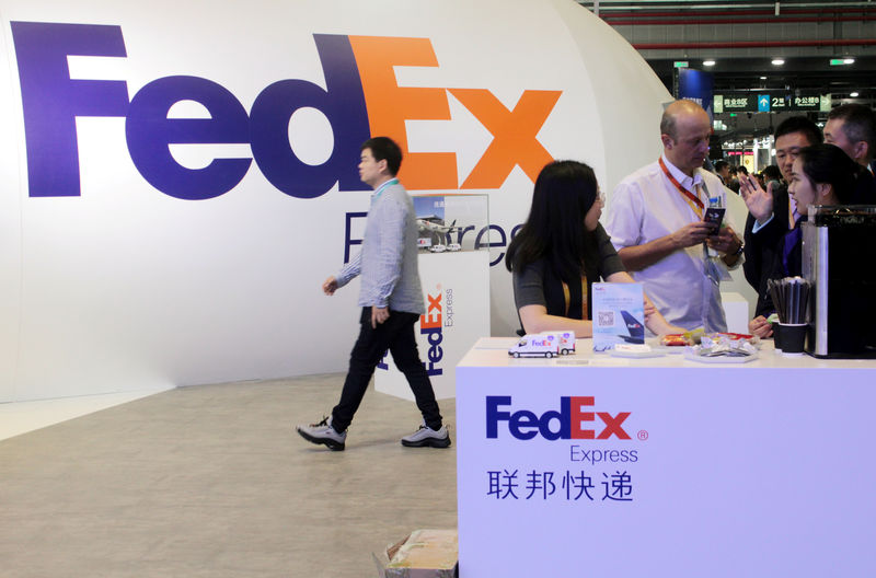 FedEx profit beats estimates, warns of pain in 2020 from trade war
