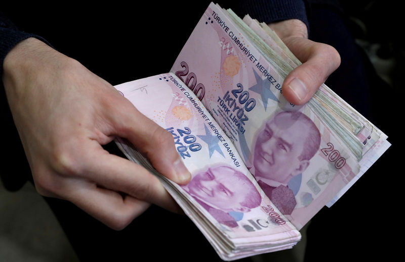 Turkey revives plan to tap 46 billion lira in central bank's legal reserves: sources