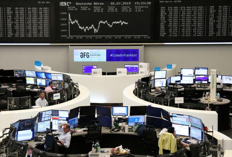 European shares hit two-month high as EU picks Lagarde to head ECB