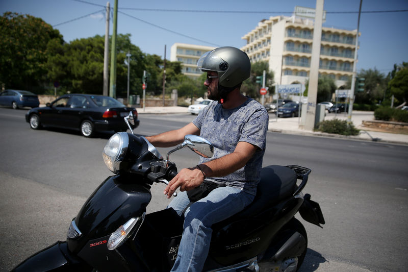 For Greeks, burgeoning gig economy means low wages, long hours