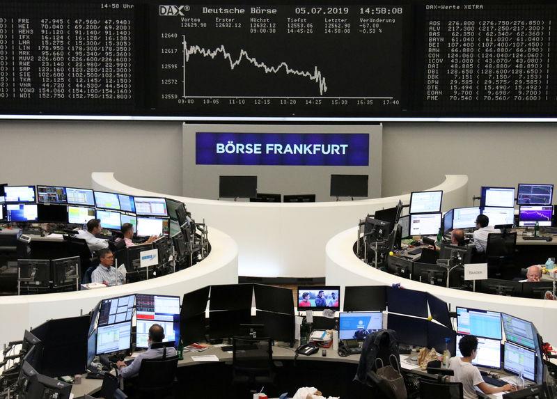 Europeas De Previsiones Las Bolsas Recorte Caen El Por Arrastradas FuK513cTJl