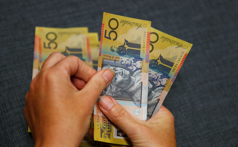 Encouraging China economic data buoys Australian dollar