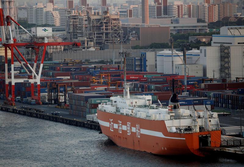 Japans Exporte schrumpfen siebten Monat in Folge - Stimmung im Keller