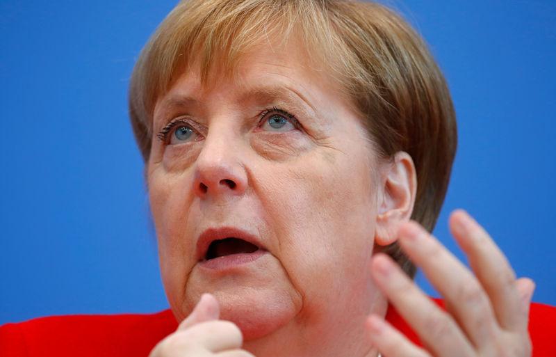 Merkel: Weaker economy gives us reason to try to stimulate domestic economy