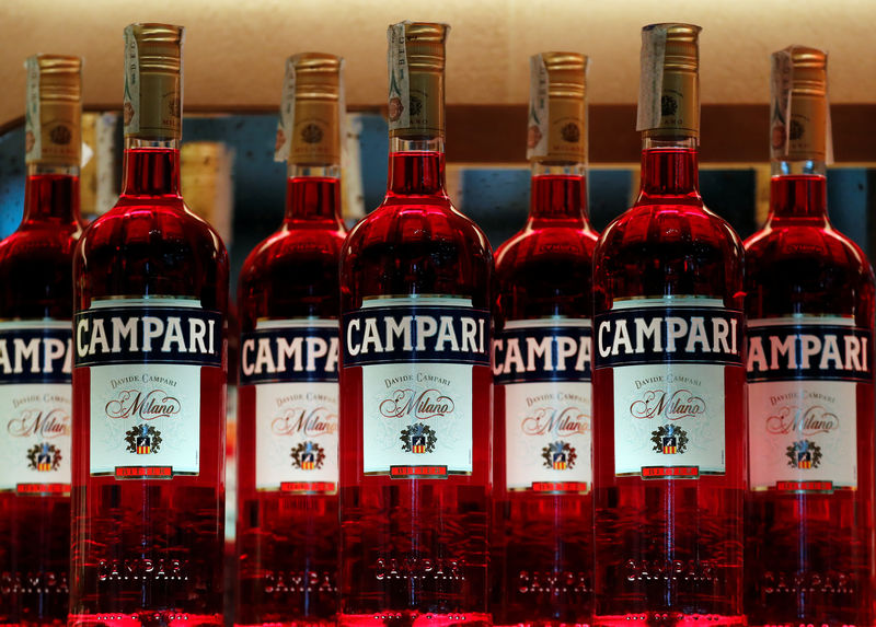 Italy's Campari in talks to buy French liquor firm Rhumantilles