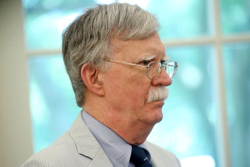 U.S. national security adviser Bolton travels to Japan, South Korea amid trade dispute