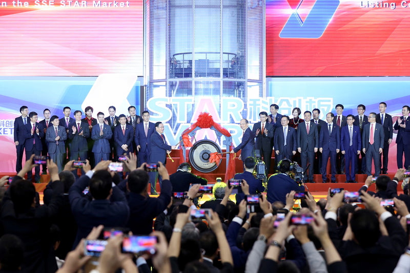 Circuit breakers trip, shares soar as China's Nasdaq-style bourse debuts