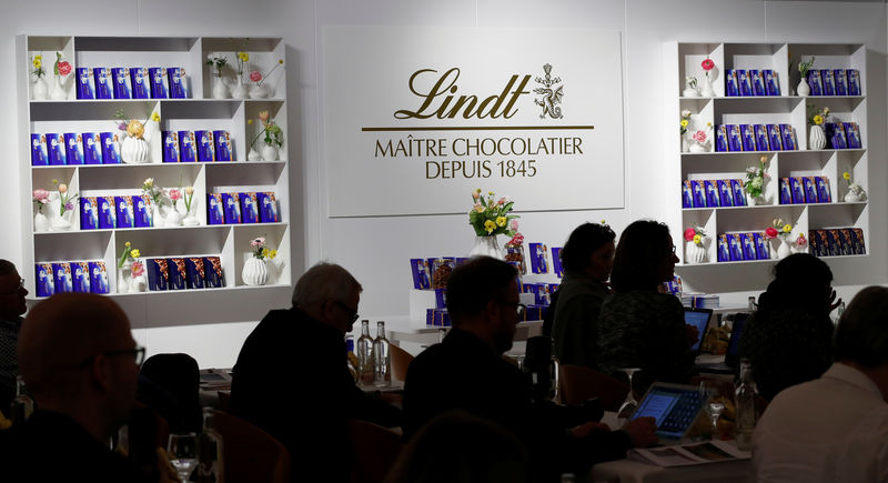 Lindt confirms 2019 outlook after business improves in the U.S