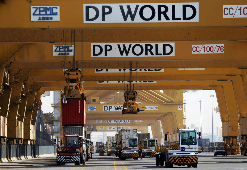 DP World's Dubai shipping container volumes fall for fifth consecutive quarter