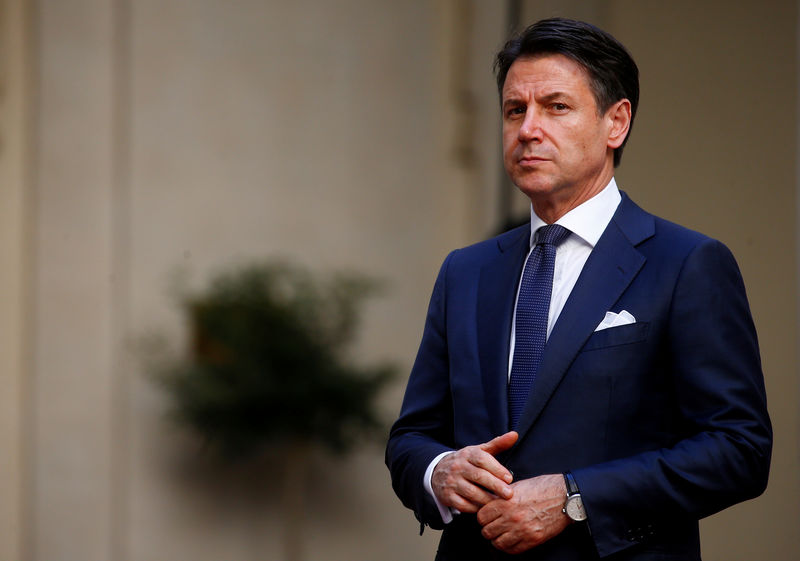 Italy's PM Conte says government plans to agree 2020 budget ahead of schedule