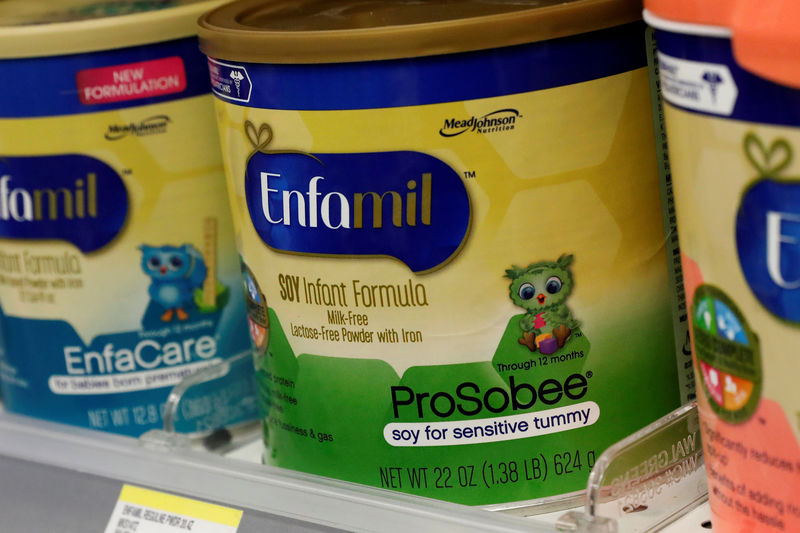 Reckitt Benckiser sales miss as China infant formula demand falls By R
