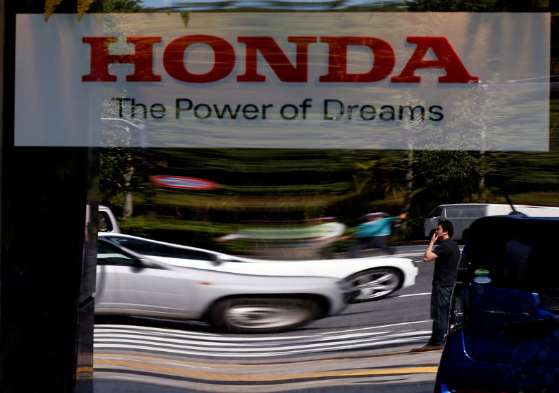 Honda first-quarter operating profit drops 16% on lower U.S. car sales