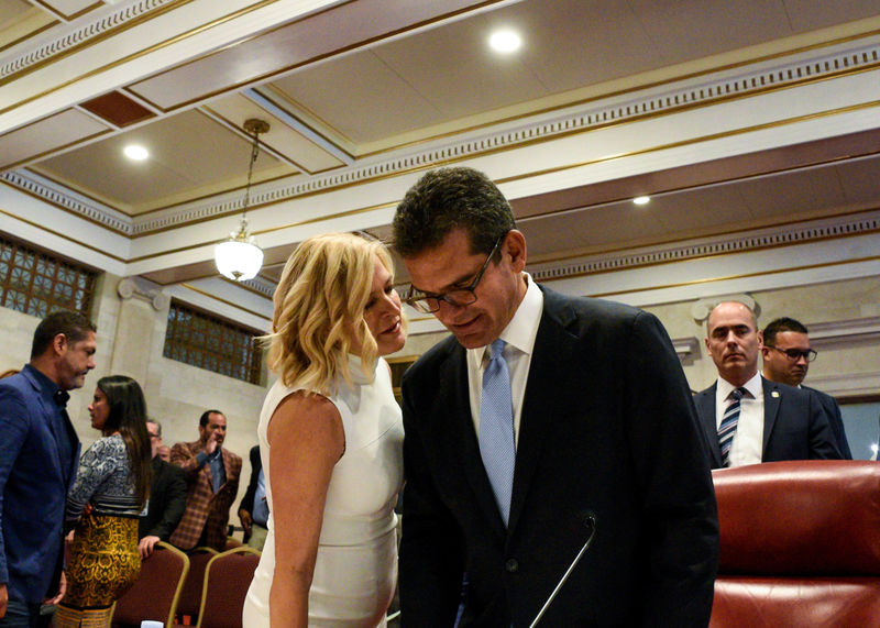With Puerto Rico leader set to quit, successor still unknown