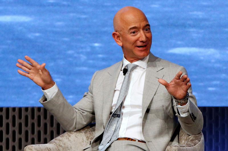Jeff Bezos sells Amazon stock worth $2.8 billion last week By Reuters