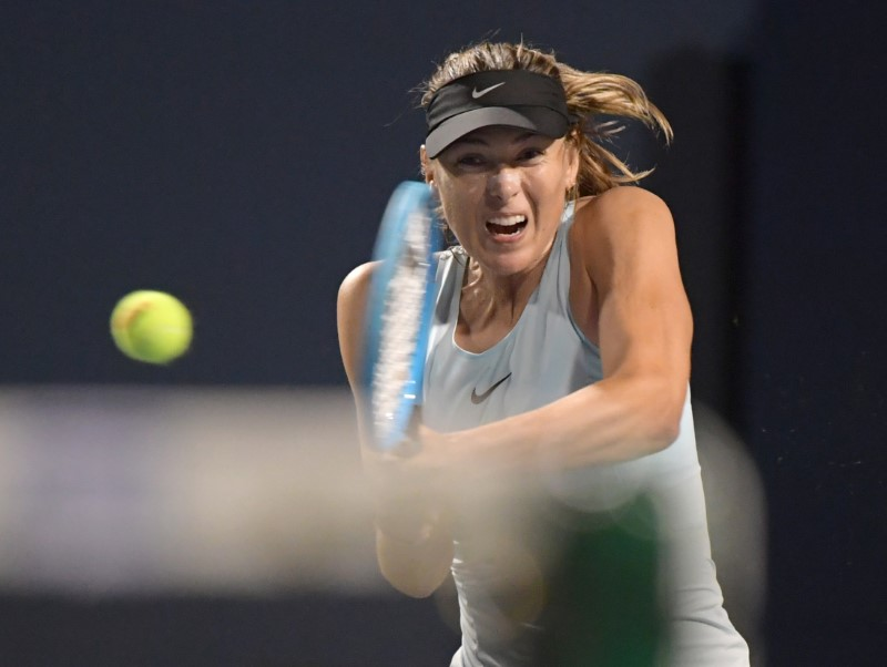 Konta, Sharapova fall at Rogers Cup in Toronto By Reuters