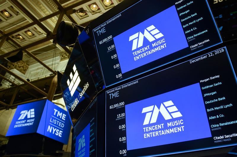 China's Tencent Music misses quarterly revenue estimates By Reuters