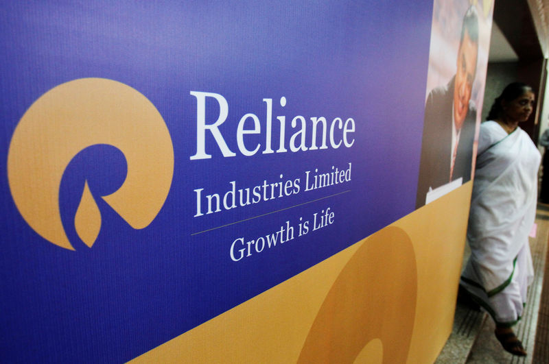 RELI Reliance shares see biggest intraday rise in decade; rivals hit by disruption worries By Reuters