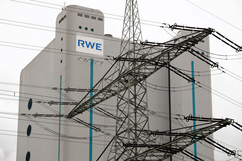 RWE posts 20% core profit rise on energy trading boost By Reuters