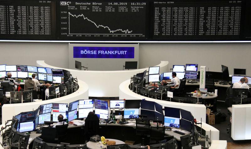 © Reuters. Bolsa de Valores de Frankfurt