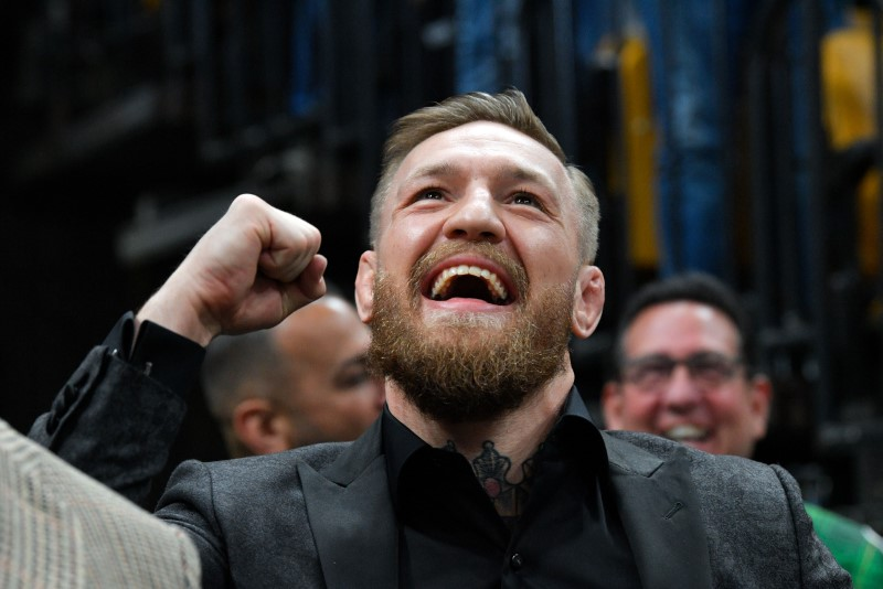 Video shows McGregor punching man in pub By Reuters