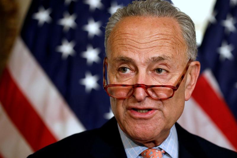 U.S. Senator Schumer says he would oppose any U.S.-UK trade deal imperiling Irish border