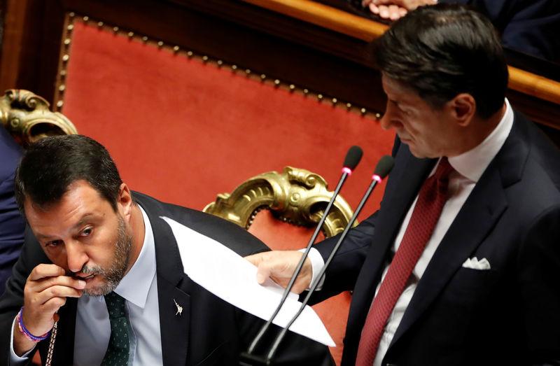 Italian PM Conte denounces Salvini for toppling government