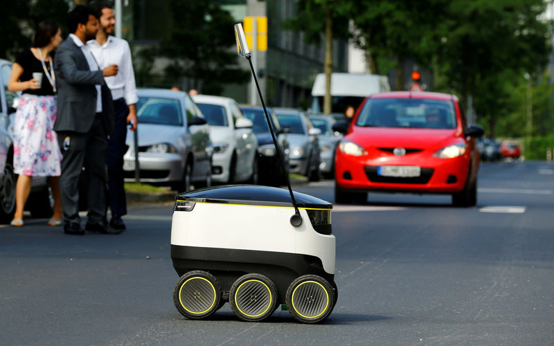 Delivery robot firm Starship raises $40 million By Reuters