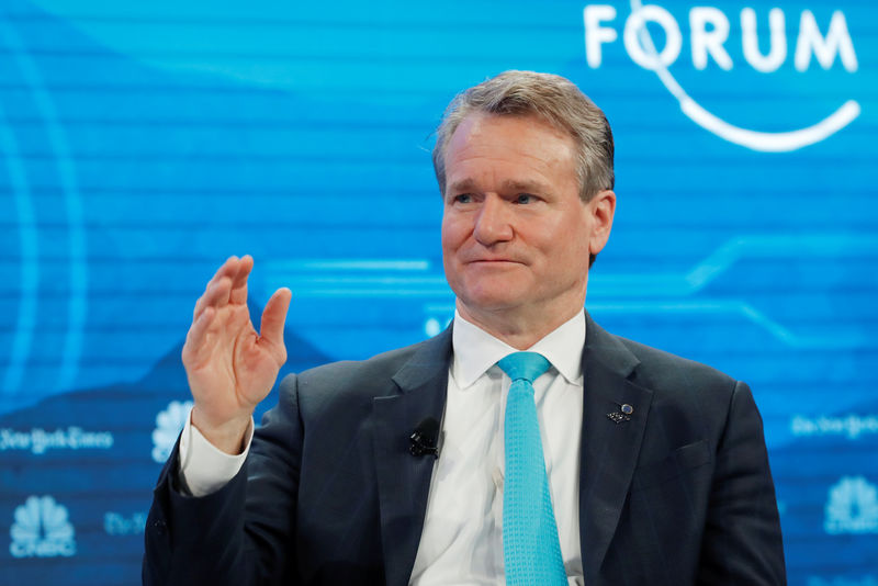 BofA CEO Moynihan plays down fears of U.S. recession: CNBC By Reuters