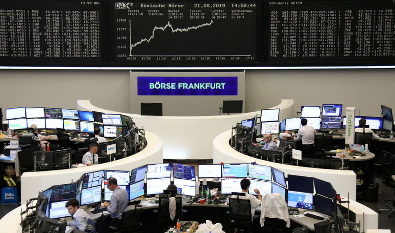 European shares dip as Fed cools further easing hopes By Reuters