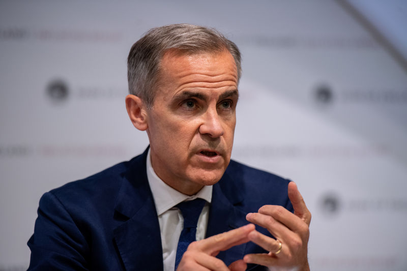UK economy headed for stagnation in third quarter: BoE's Carney By Reu