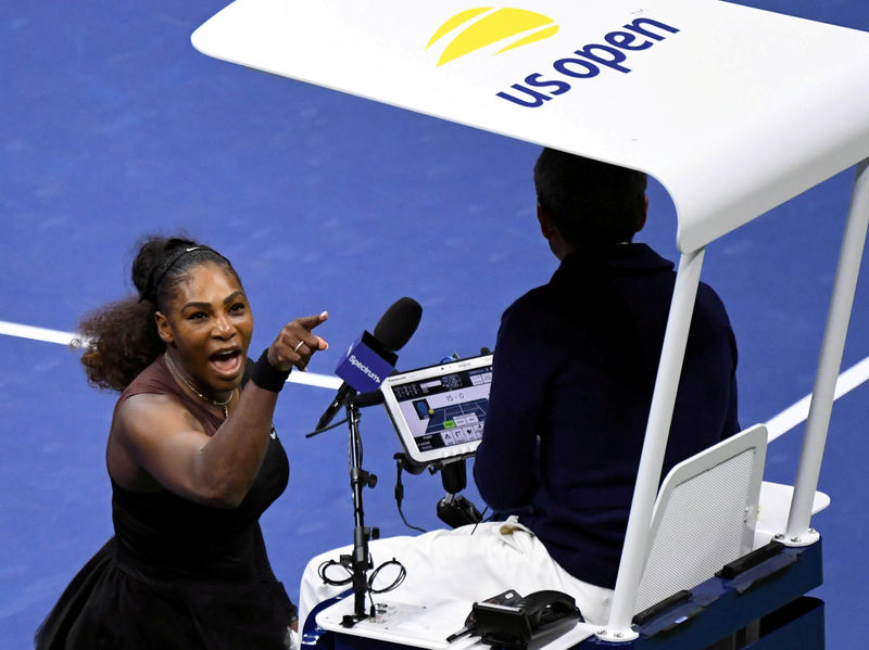 Chair umpire Ramos has lasting impact on U.S. Open By Reuters