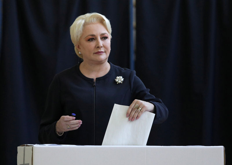 Romanian PM Dancila gets party nod to run for president By Reuters
