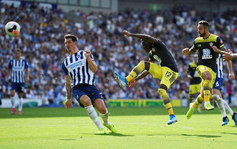© Reuters. Premier League - Brighton & Hove Albion v Southampton