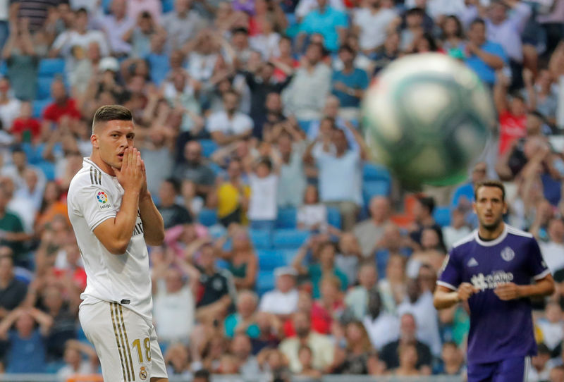 © Reuters. La Liga Santander - Real Madrid v Real Valladolid