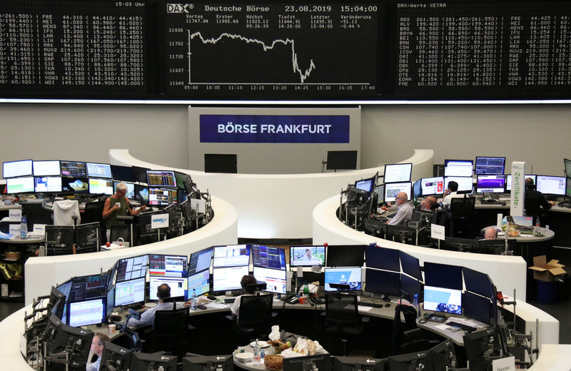 Global stocks edge higher as Trump acts to ease China trade tensions