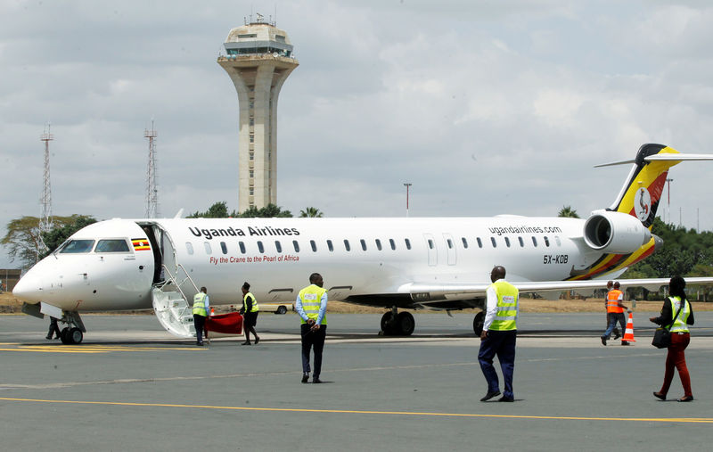 IATA Resurrected Uganda Airlines flies into crowded African skies By Reuters