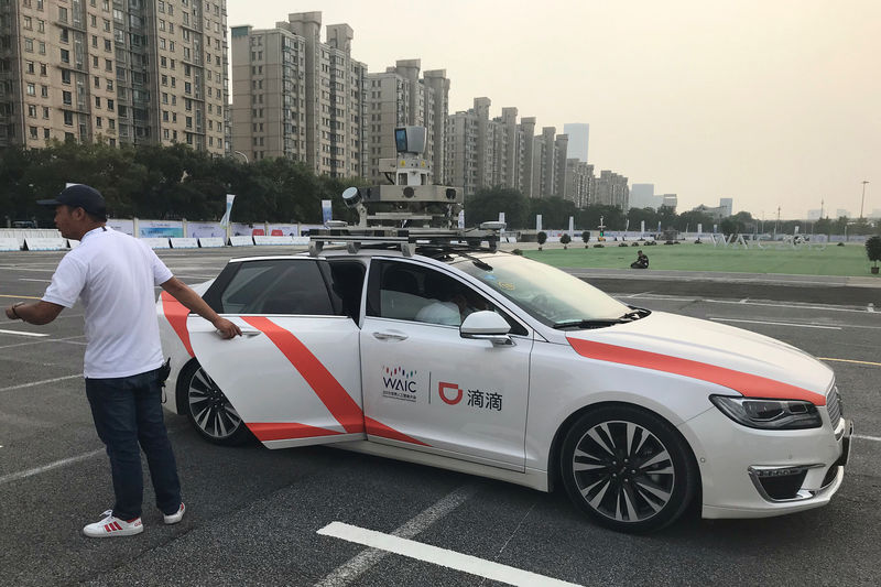 Didi Chuxing to launch self-driving pick up service in China, plans to