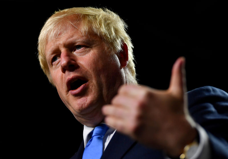 UK's Johnson says he will continue to bring down public debt