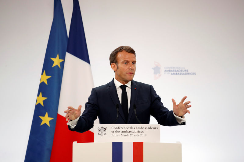 Macron's reform drive faces high-risk pension overhaul