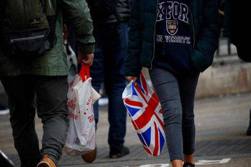 UK retail sales flat-line, consumers stockpile food for Brexit: survey