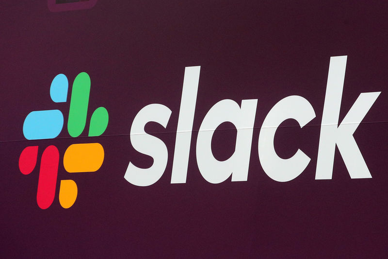 Slack shares tumble after dismal forecast By Reuters