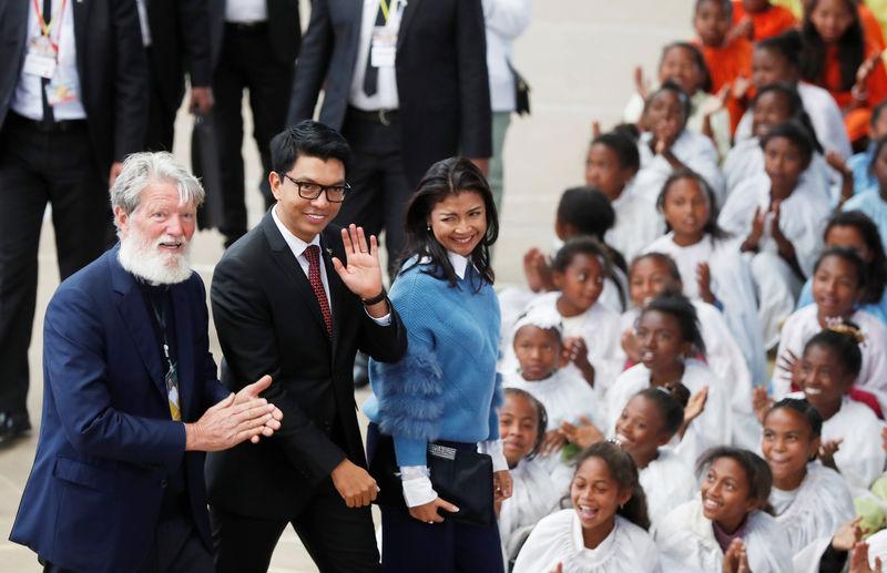 Pope celebrates Madagascar's 'living saint', champion of the