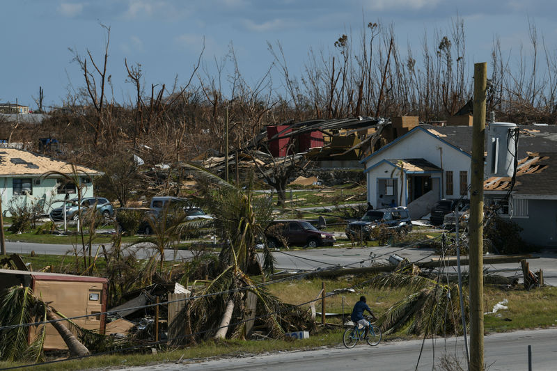 Search for bodies continues in hurricane-ravaged Bahamas By Reuters