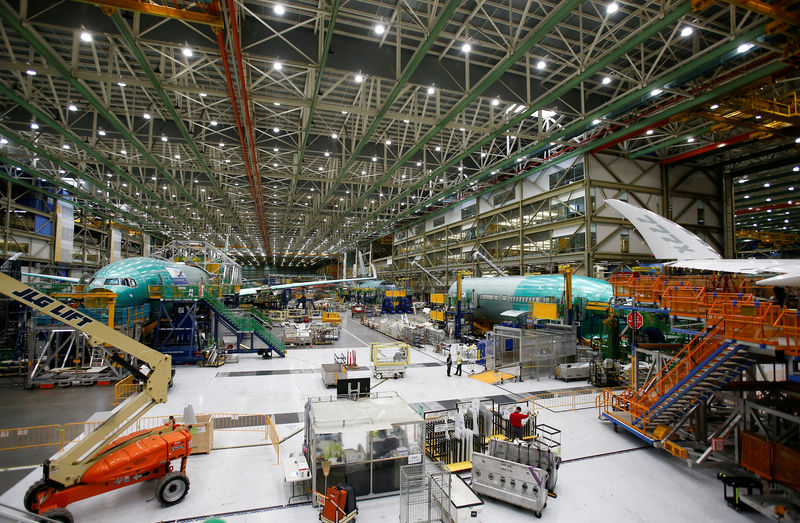 Boeing says depressurization issue led to suspension of 777X load test