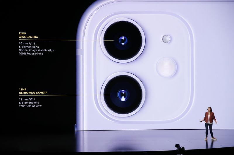Apple reveals triple-camera iPhone, undercuts Disney