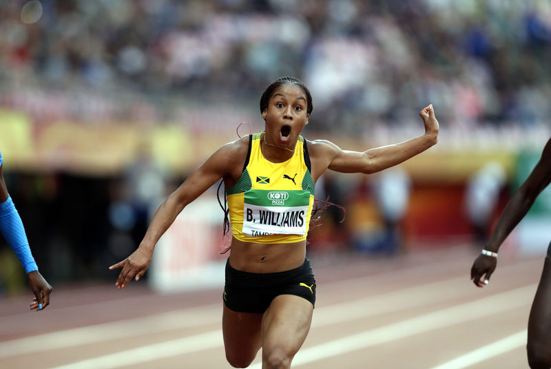 Jamaica name Williams in Doha team despite positive dope test By Reute