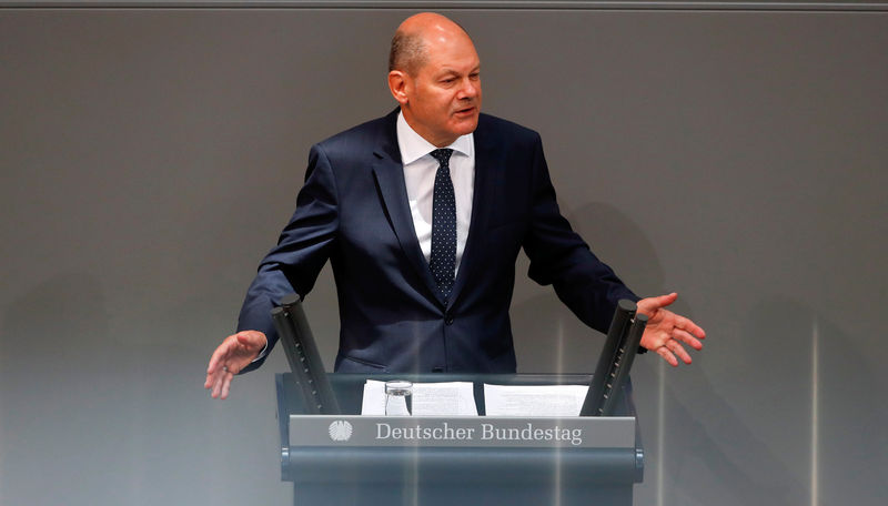 German savers need not reckon with negative interest rates: Scholz