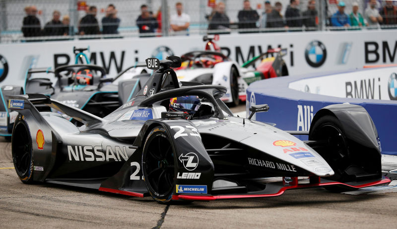 Motor racing- Formula E reports record revenues and first profit By Re
