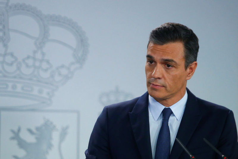 Spain's Sanchez says he will defend food sector against 'unacceptable'