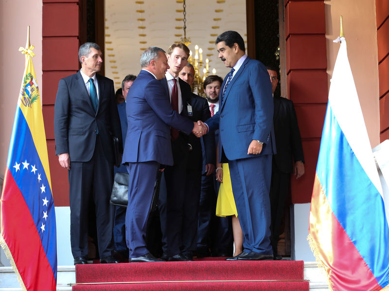 Russian deputy prime minister in Venezuela to support Maduro By Reuter